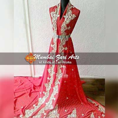 All types of designer and traditional Caftans by Mumbai Zari Arts